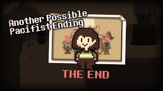 """What If You Choose """"I Have Places To Go"""" After Beating Genocide Then Pacifist??   Undertale"""