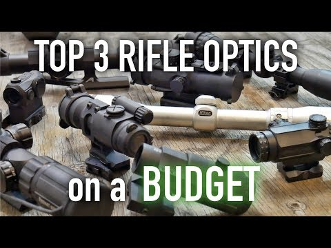 Top 3 Best Budget Optics for your AR-15 or Rifle