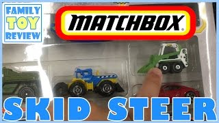 Toy Cars - UNBOXING 2016 Matchbox 9 Car Gift Pack & Construction Truck TOY HUNT - 4Runner Skidsteer