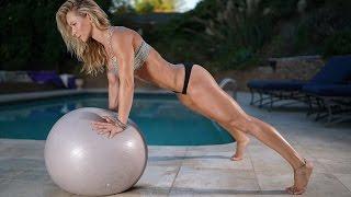 5 Minute Fat Burning Workout #96 - balance ball by Zuzka Light