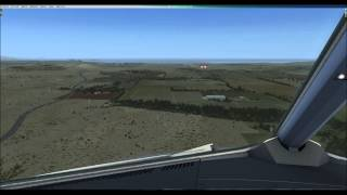 preview picture of video 'FSX - A320 Landing in Alicante Valencia - Spain - [cockpit view]'
