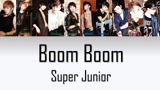 Super Junior Boom Boom Lyrics - YouTube