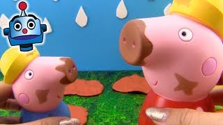 Juguetes de Baño Peppa y George Manchitas Mágicas - Juguetes de Peppa Pig