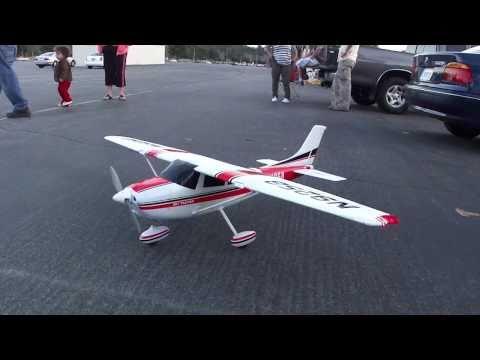 Cessna 182 RC Plane Crash