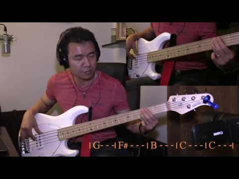 Here I Am To Worship - Bass Cover Mp3