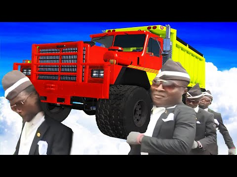COFFIN DANCE FUNERAL MEME COVER #27 - BeamNG Drive