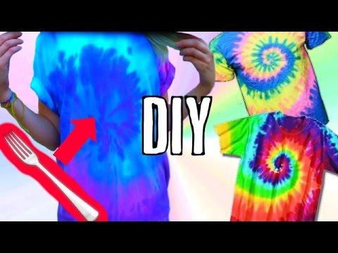 DIY | BATIK SHIRT selber machen | HOW TO | TIE DYE