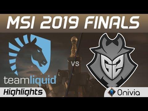 TL vs G2 Highlights - Chung kết MSI 2019