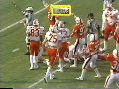 Miami Hurricanes vs. Louisville football – 1979