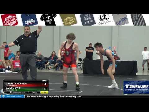 Mat 5 106 Garrett McBride Oklahoma Vs Kainen Kyle Tennessee