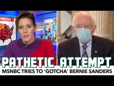 MSNBC Tries To 'Gotcha' Bernie Sanders