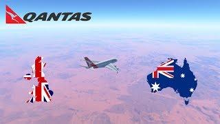 [NON-STOP] Sydney (YSSY) To London (EGLL) - TIMELAPSE - Qantas A380 - Infinite Flight GLOBAL