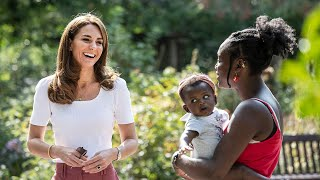 video: Duchess of Cambridge calls for support for new mums to beat isolation