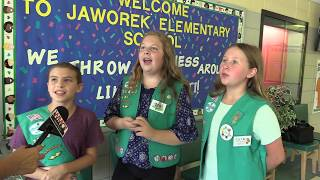 Girl Scouts Combat Bullying with a Useful Donation