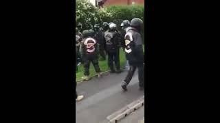 Hell Angels Vs Blackpool police
