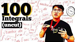 100 Integrals (World Record?)