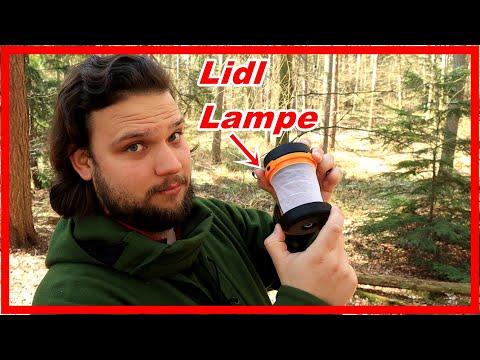LIDL CAMPING LAMPE 💡 Die Günstige Erleuchtung ? | Outdoor Gear