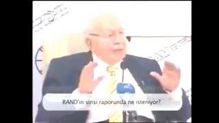 Diyalogculuğun Türkiye'yi İşgal Projesi Olduğu Cübbeli Ahmet Hoca Efendi 2009'da Söylemişti.