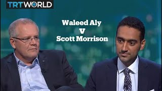 Australian Prime Minister Scott Morrison Has Heated Interview With TV Host Waleed Aly