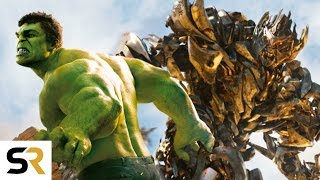 The Avengers VS Transformers New Fan Trailer Amazing Epic Supercut