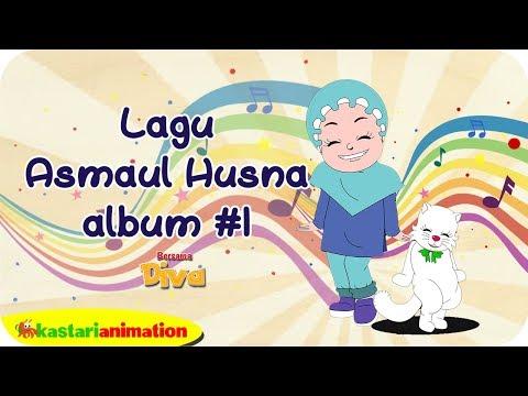 Lagu Asmaul Husna Album #1 bersama Diva   Kastari Animation Official