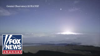 Time-lapse video shows Kilauea volcanic eruption
