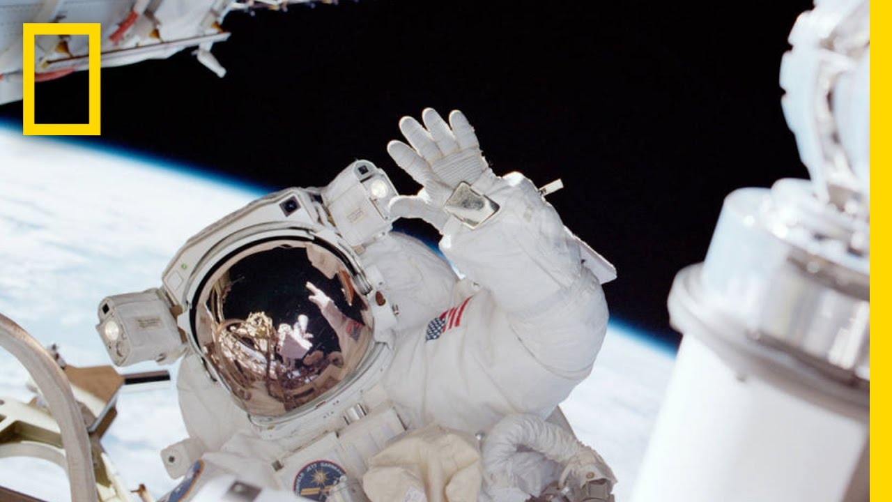 Astronaut Bling: Why Gold Goes to Space on Every Mission | National Geographic thumbnail
