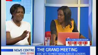Analysis of the NASA, Jubilee meeting called by IEBC