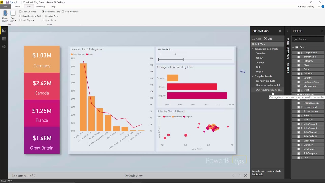 Power BI 2018 Update video