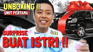 KADO MOBIL UNTUK ISTRI ! UNBOXING WULING ALMAZ PERTAMA INDONESIA YG BELI DI GIIAS