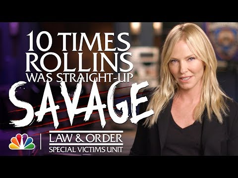 10 Times Rollins Was Straight-Up Savage - Law & Order: SVU