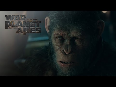 New TV Spot for War for the Planet of the Apes