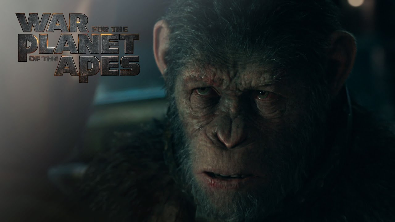 Trailer för Apornas planet: Striden