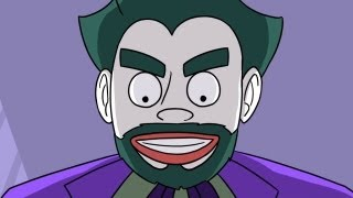 HUNTED BY THE JOKER (Video Game Time: The Hidden Animated)