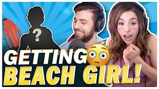 GETTING HOT BEACH GIRL! SypherPK Gives Poki Fortnite Tips!?