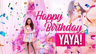HAPPY BIRTHDAY YAYA!!! WE THREW YAYA THE BEST 13TH BIRTHDAY   PARTY EVER