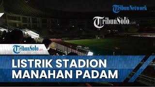 Jelang Derby Mataram Dimulai, Listrik di Stadion Manahan Sempat Padam, PLN: Ada Gangguan Temporer