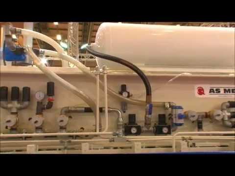 Vacuum-Membrane Press