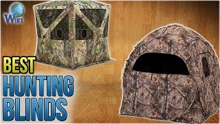 10 Best Hunting Blinds 2018
