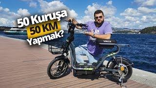 BİM'de satılacak elektrikli bisiklet ile gezdik! Volta VSM ile 50 kuruşa 50 KM!