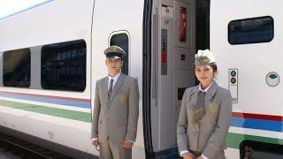 Из КАЗАХСТАНА в УЗБЕКИСТАН отправился новый пассажирский поезд