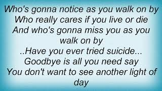 Anti-Nowhere League - Suicide Lyrics