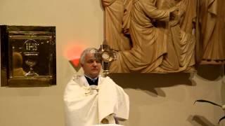 Modlitwa o uzdrowienie - Św. Jan Paweł II - Sanktuarium Św. Ojca Pio k/Częstochowy 8.11.2014