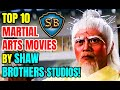 Top 10 Martial Arts Movies By Shaw Brothers Studios!