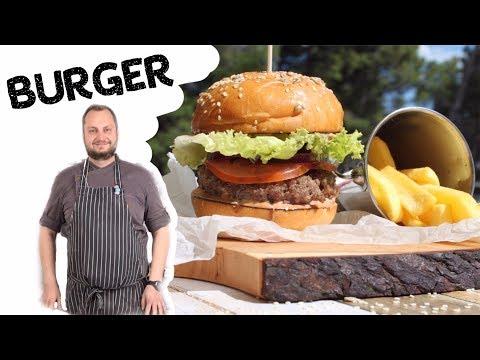 Как готовится лучший бургер 🍔Меню ресторана Mozaik 🍔 Смотрите, как мы готовим для вас