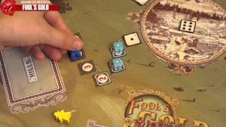 Fool's Gold Board Game Video Review
