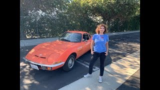 'Round The Block:  Driving a 1971 Opel GT
