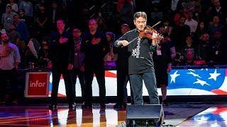 Frank Huang's Virtuosic National Anthem