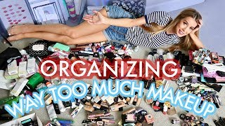 ORGANIZING MY MAKEUP ROOM AND LEARNING TO LOVE MYSELF | leighannsays | LeighAnnSays