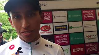 Miniatura Video Egan Bernal, felicita a la ANSV